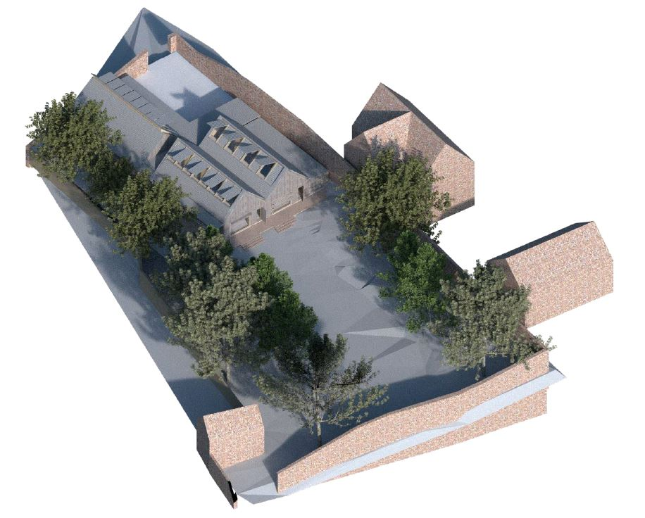 Image of the new scouting centre