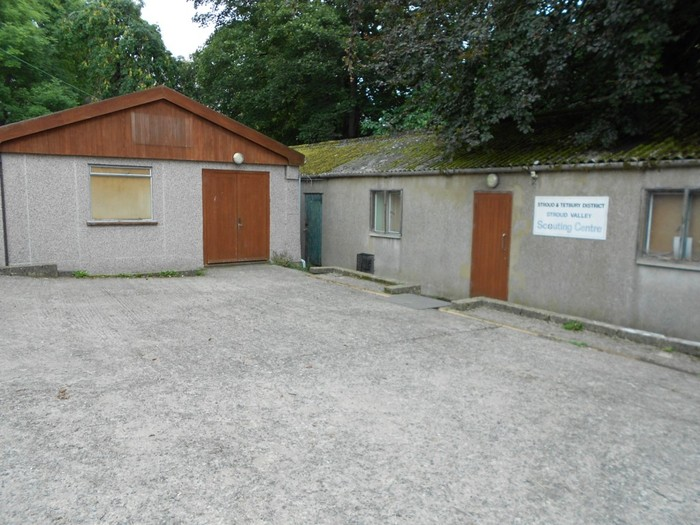 outside view of scouting centre